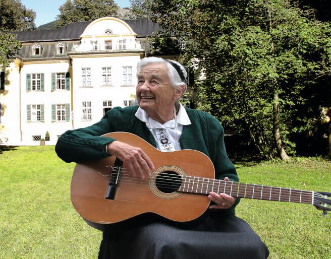 Maria Franziska von Trapp von der Villa Trapp in Salzburg
