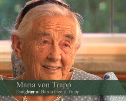 Maria Franziska von Trapp, daughter of Georg Trapp
