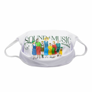 Respirator mask with the Trapp Sound of Music family