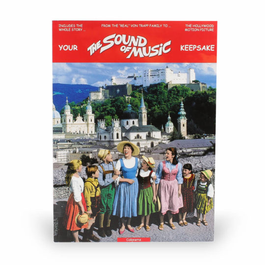 Sound of Music Keepsake Cover