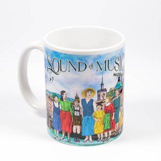 sound of music mug with print