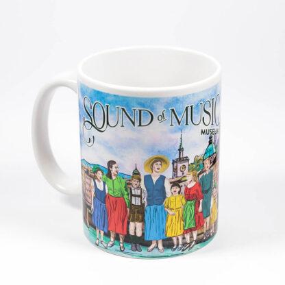 sound of music mug with print
