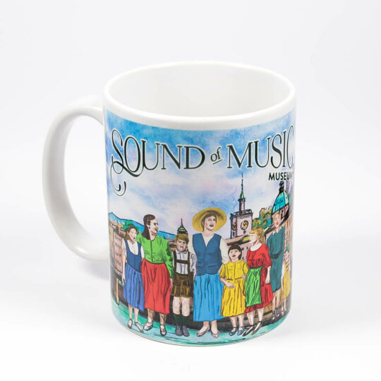 sound of music tasse mit aufdruck